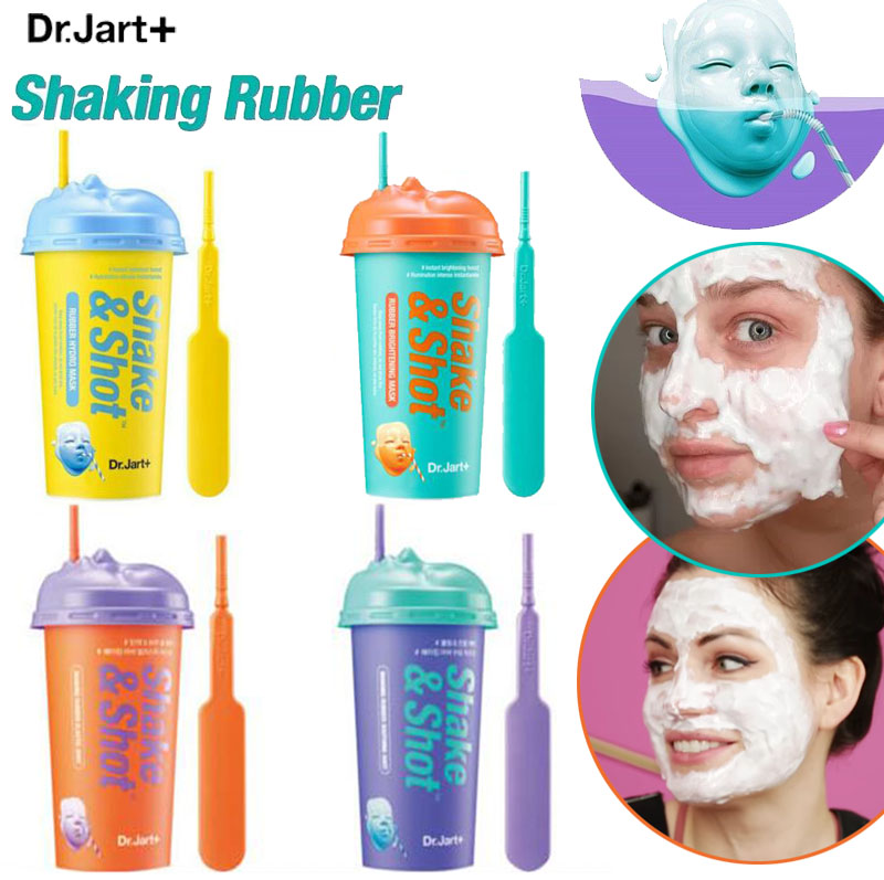 Dr.Jart Dermask Shaking Rubber Luminous Shot Mask Pack Rubber Face Mask Anti Wrinkle Smooth Skin Korean Facial Mask Skin Care