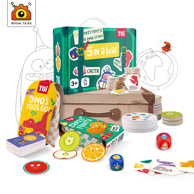 Desktop Game Matching Memory Imagination Focus Observation party games Kids Gifts box Creative Learning Toys for Children