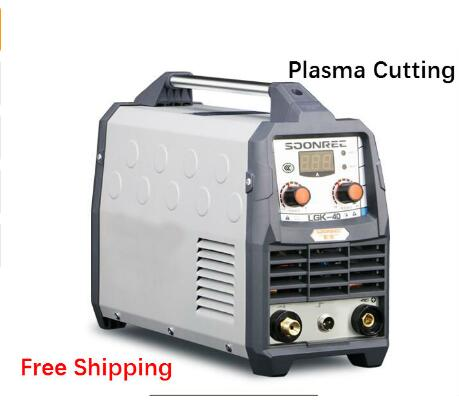 Free shipping 2019 New Plasma Cutting Machine LGK40 CUT50 220V Plasma Cutter With PT31 Free Welding
