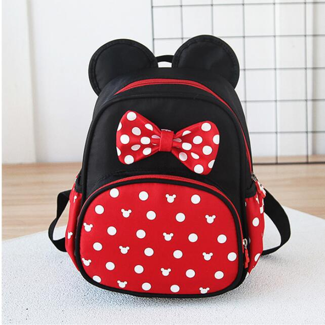 Cartoon Mickey Children School Bags For Girls Boys Kids Backpack Child Book Bag Minnie Princess Schoolbags Mochila Escolar