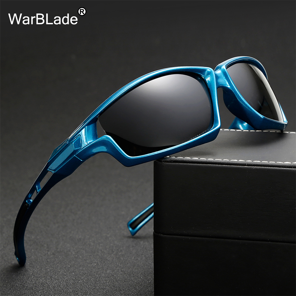 Nuit Vision WarBLade femme UV400 Polarisée Conduite Lunettes de Soleil Pour Hommes Polarisées lunettes de Soleil Élégantes Mâle Lunettes Eyewears Gafas