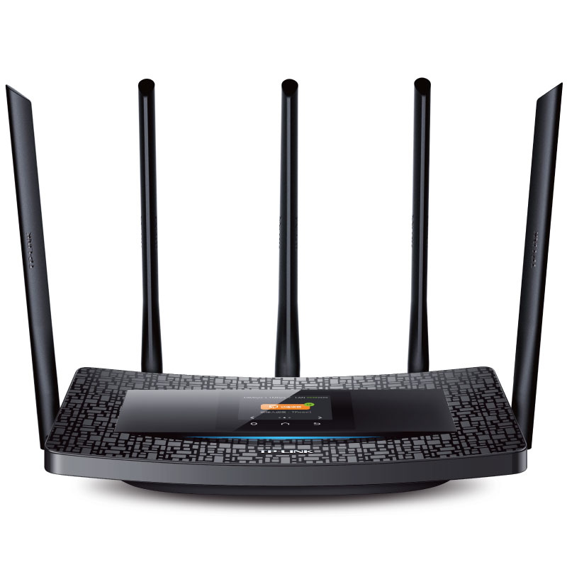 TP-Link Touch Wifi Router 11AC TL-WDR6510 2.4GHZ-5GHZ Smart Wireless Router Range Extende Amplificador Range Extender Repetidor tp link wireless router 802 11ac ac1750 dual band wireless wifi router 2 4g 5 0g vpn wifi repeater tl wdr7400 app routers
