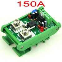 Din レール マウント +/-150amp ac/dc電流センサモジュール 、 に基づい て acs758