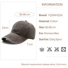 Casual Men Cotton Solid Baseball Cap Vantage Women Baseball Hat Girl Adjustable Snapback Caps Bone Dad Hats Wholesale WH004