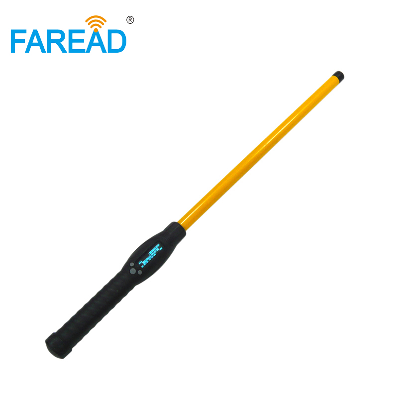 RFID Animal Stick Reader 134.2KHZ /125KHZ handheld bluetooth and USB portable scanner connect to Android phone for data manage admin manage