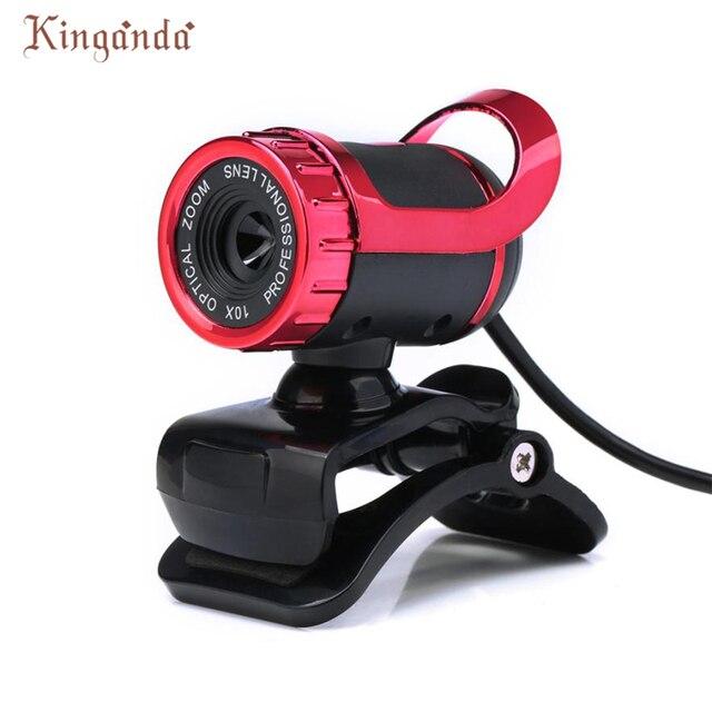 Webcam USB 12 Megapixel HD Máy Ảnh Web Cam 360 MIC Clip-on cho Máy Tính Xách Tay PC Camara Web Thả vận chuyển 17Aug10