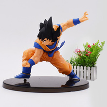 Anime Dragon Ball Super Saiyan Son Goku Kakarotto PVC Action Figure Toy DragonBall Tenkaichi Budokai Model Doll Christmas Gift цена