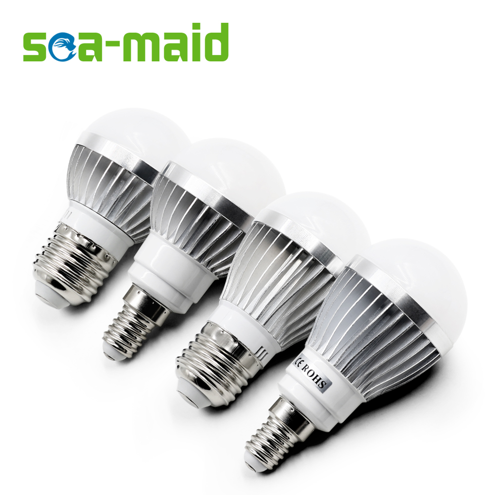 Energy Saving 220v E27 E14 Led Lamp Bulb 3w 5w 7w 9w 12w Fluorescent Light Smd Leds Lampada Led