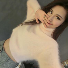 טבעי סוודר נשים קשמיר