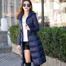 2016 Новый зимний дизайн длинном пальто женщин хлопка-ватник плюс размер конфеты цвет Куртки и Пальто зеленый черный красный 704