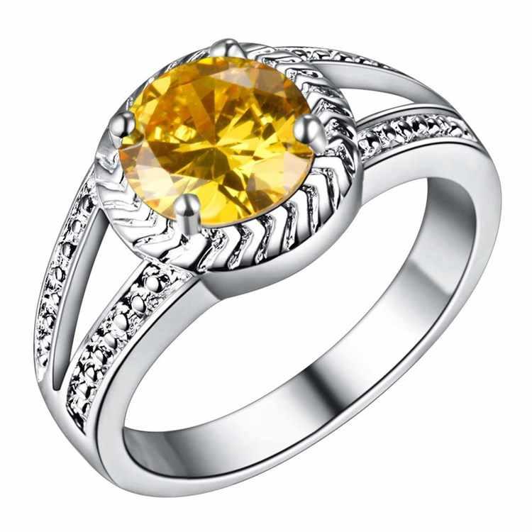 Groothandel Trouwringen Verzilverd Mode-sieraden Vrouwen Ringen WR-127