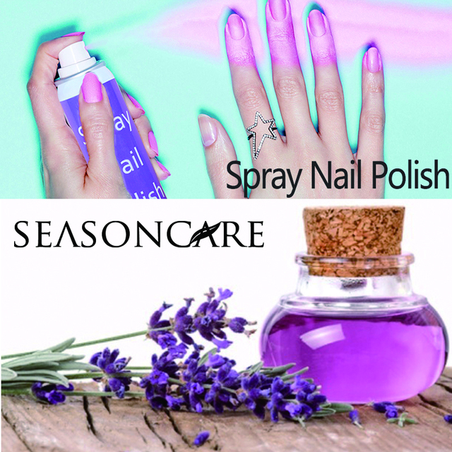 Stock or private label paint spray nail polish gel perfect paint polish can be spray on nail easy and fast dry spray nail