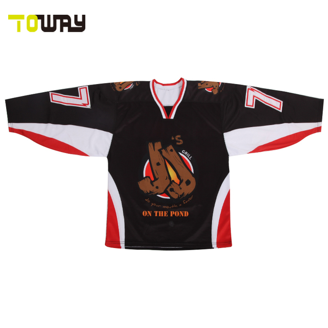 Sublimation ice hockey jersey custom style hockey shirts-in Hockey ... a1bd8caf11f
