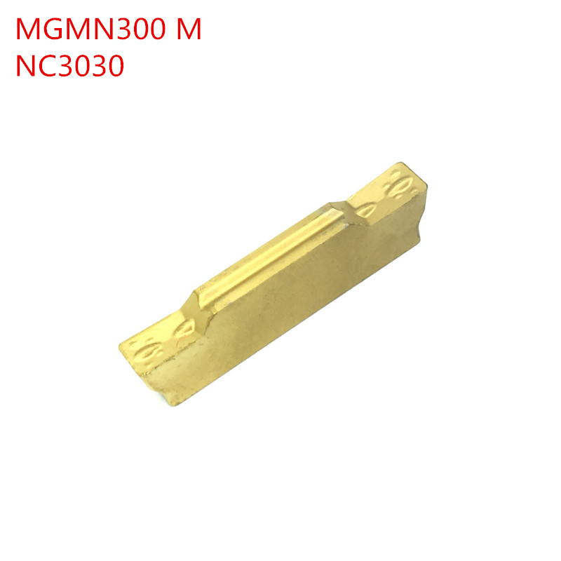 10pcs MGMN300 M NC3020 / NC3030 Carbide Inserts CNC Lathe Tool Grooving  Turning Tool CNC Tool MGMN 300 Work For Steel Amw