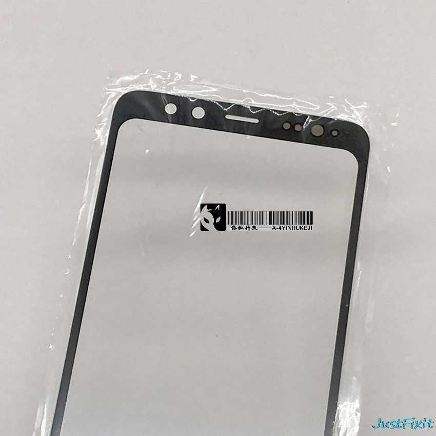 Yedek Ön Cam SAMSUNG Galaxy A8 2018 A530 A530F A530DS A8 Artı A730 A730F A730DS Ekran Dış Cam Lens