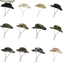Sun Hat Panama Bucket Flap Hat Breathable Boonie
