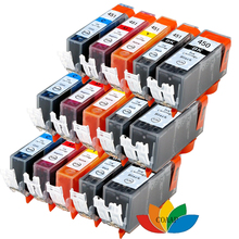 15 PACK PGI-450 CLI-451 Ink Cartridges for compatible canon pgi 450 cli 451 Pixma IP7220 IP7240 IP8740 Printer