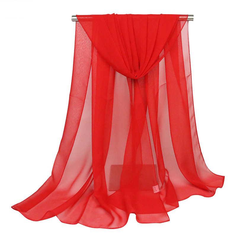 150*90 cm מוצק סגול נשים רגיל בועת שיפון צעיף חיג 'אב לעטוף printe מוצק צעיף חוף חיצוני גדול משי צעיפי צעיף נשי
