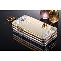 Роскошные Ручной Rhinestone bling diamond Case Cover for Samsung Galaxy A3 A5 A7 Grand Prime G530 Горный Хрусталь телефон case бесплатная доставка корабль