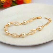 Luxury Simulated Pearl Bracelet