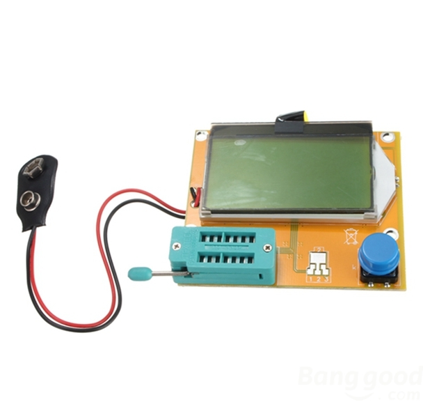 LCR-T4 12864 LCD ESR SCR Meter Transistor Tester
