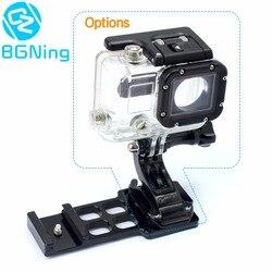 Piezas de cámara de acción 20mm adaptador de montaje de placa de conexión de Riel lateral/juego de destornilladores de soporte de montaje de Base de soporte fijo