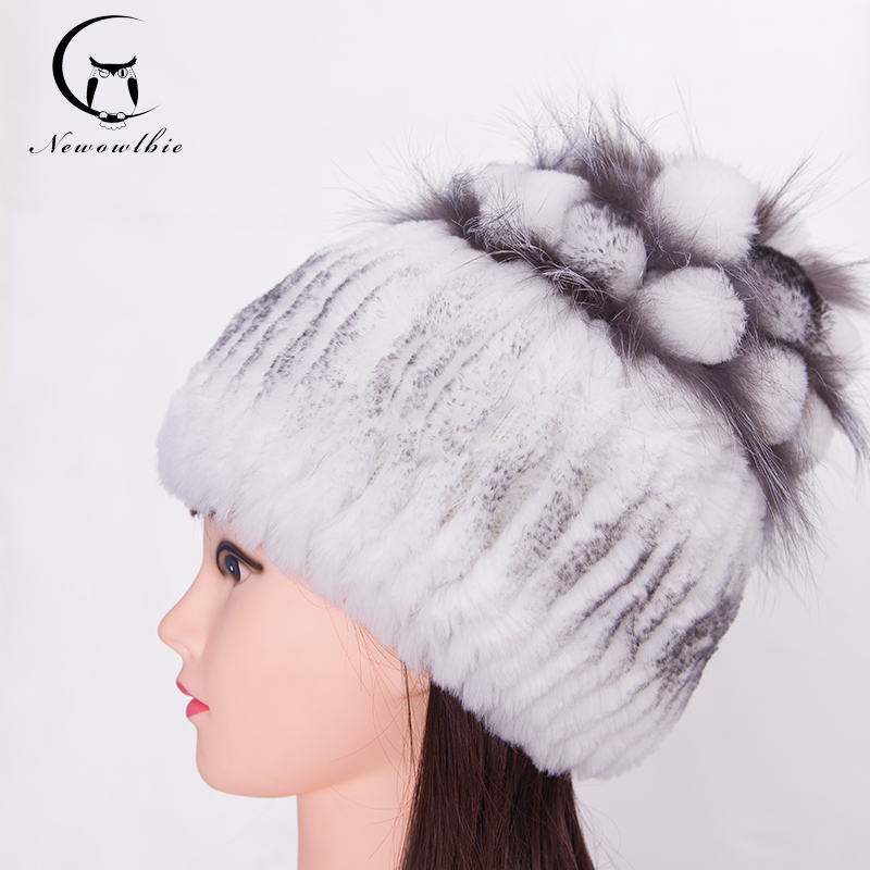 Detail Feedback Questions about Hat Women Winter With Real Nature Fur Beaver  Rabbit Wool Hats Female Fur Hat Leather Warm Fashion Rabbit Hair Fox Fur  Hats ... 8ae0aeee0e8