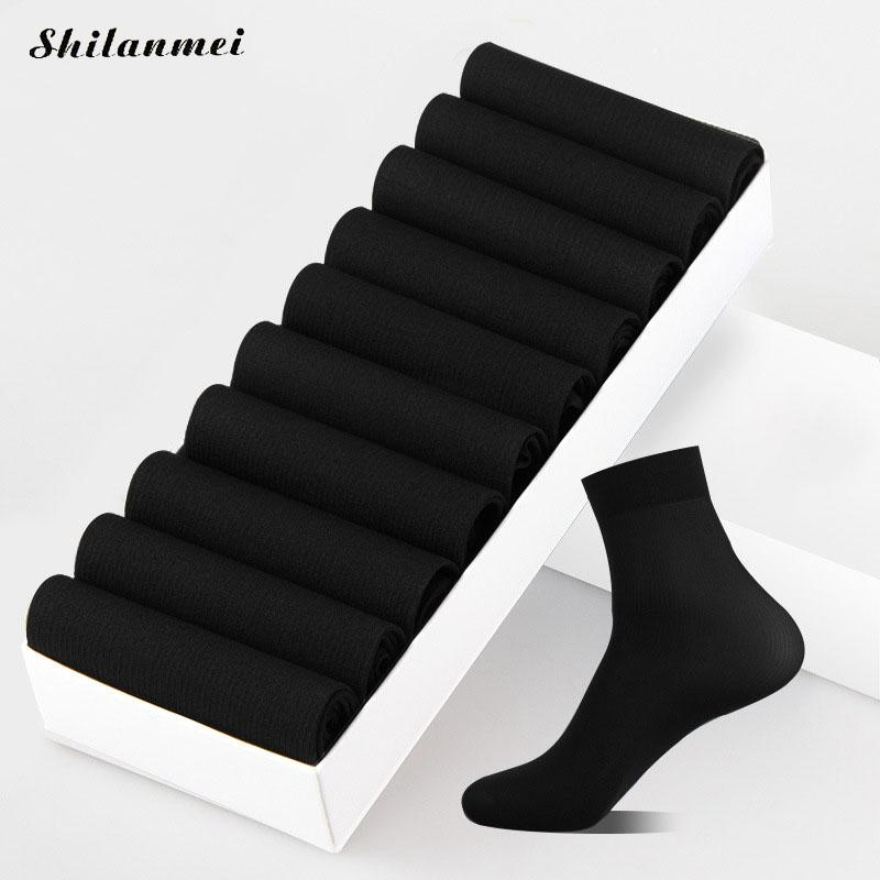 2017 Summer Men Ankle Socks For Men'S Business Casual Solid Colors Breathable Short Socks Male Sock Slippers 20pcs 10pairs/Box