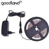 LED Strip Light SMD3528 5m 60LEDs M Single Color Flexible Lamp Light Power Supply 2A DC12V