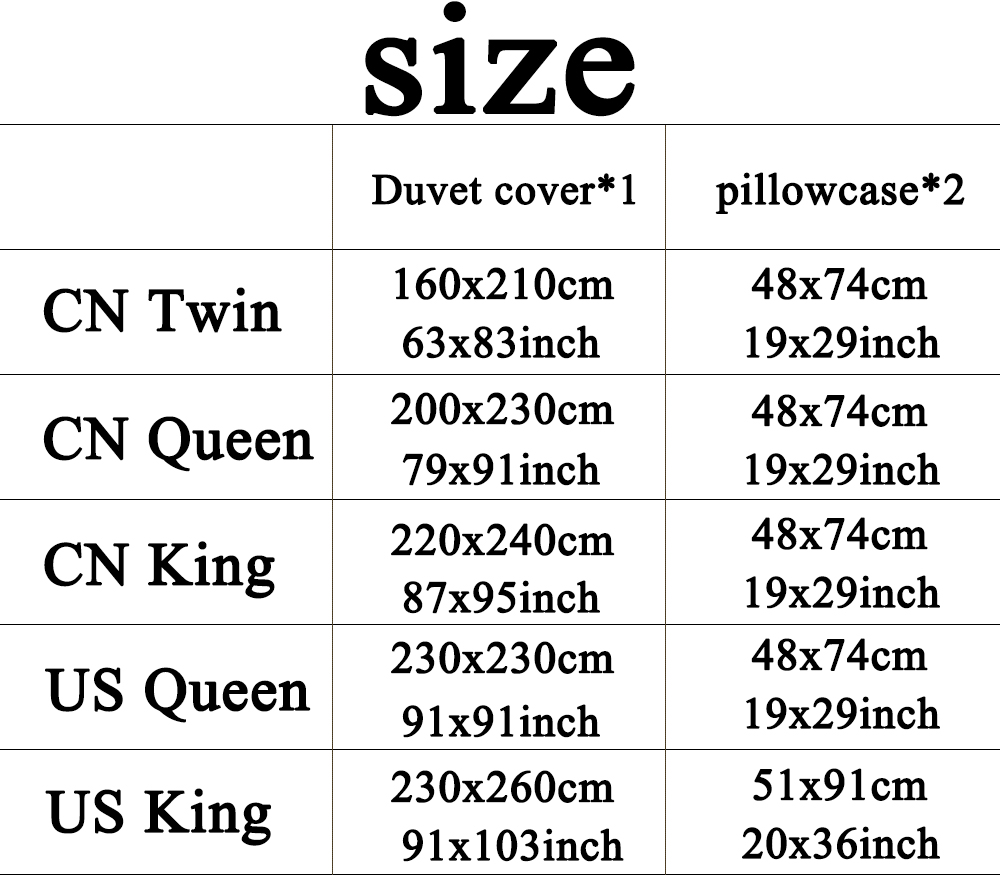 Cartoon Bedding Linen Bed Clothes Set Fairy Tale Story Printing Childrens  Girls Bed Comforter Duvet Cover Set US Queen King