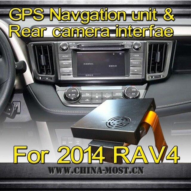 Latest gps navigation unit & rear camera video interface for toyota ...