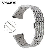 Crystal Diamond Watchband 18mm 20mm 22mm for Tissot Longines Mido Quick Release Watch Band Stainless Steel Strap Wrist Bracelet