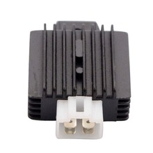 GOOFIT 12v 4-pin Voltage Regulator RECTIFIER  VOLTAGE REGULATOR FOR CHINESE SCOOTERS WITH GY6 50cc 60cc 100cc 150cc MOTORS H055-