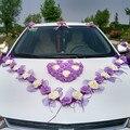 Набор декоративных цветов в Корейском стиле для свадьбы  в виде Розы  декоративные цветы и венки