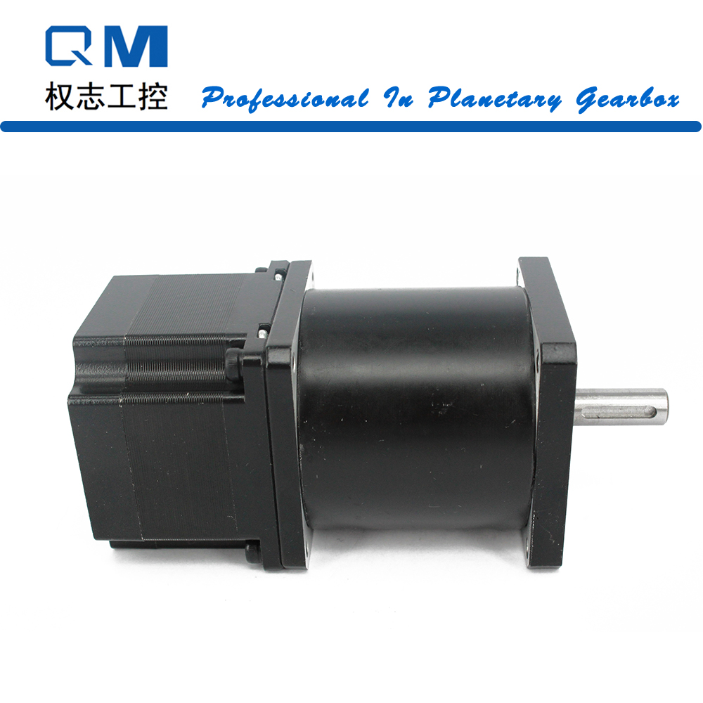 Gear stepper motor nema 23 L=42mm with planetary reduction gearbox ratio 30:1      cnc robot pump nema23 geared stepping motor ratio 50 1 planetary gear stepper motor l76mm 3a 1 8nm 4leads for cnc router