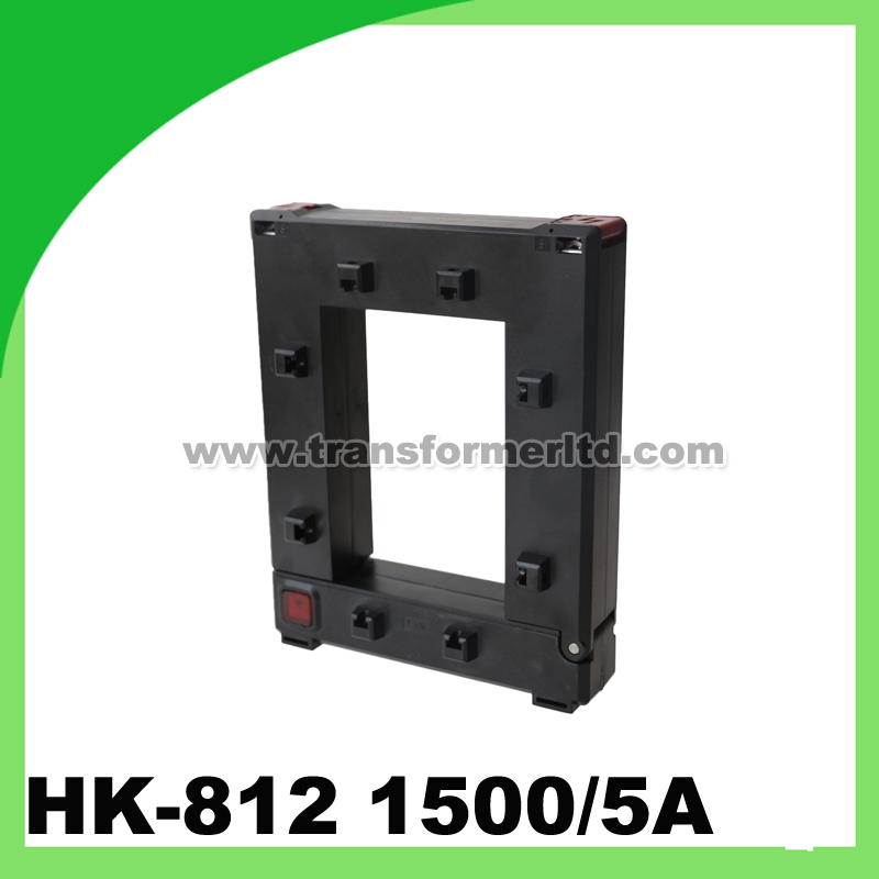 clamp on sensor, AC current transformer 1500/5A HK-812 split core ct4 22mm energy monitoring sensor clamp