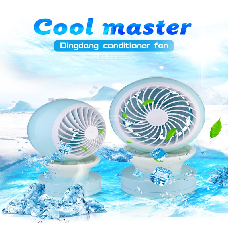 Mini Summer Portable USB Fan Office Desk Air Conditioner Humidifier Third Gear Speed Fans USB Notebook Computer Switch creative micro usb fan for car portable mini desk computer fan mini 5v 4 inch summer mini air fan car vehicle cooling suction