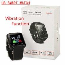 2016 heiße Bluetooth smart uhr mit Vibration Altitmeter Wrist smartWatch Reloje inteligentes für Android IOS