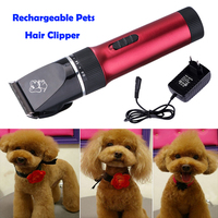 8 in 1 Set Pet Supplies Hair Razor Grooming Clipper Trimmer Low noise Electric Shaver Haircut Machine for Small Cats Dogs