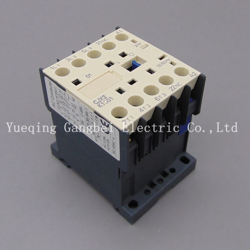 CJX2K1601Z small DC contactor LP1K1601 mini type contactor voltage 220VDC 110VDC 48VDC 36VDC 24VDC 12VDC sayoon dc 12v contactor czwt150a contactor with switching phase small volume large load capacity long service life