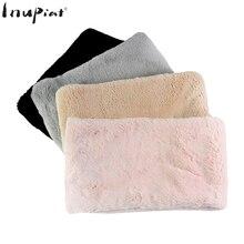 20477dfe6038 Écharpe d hiver foulards pour femmes Super doux confortable fausse fourrure  étole Infinity écharpes taille 70x20 cm Snood cou pl.