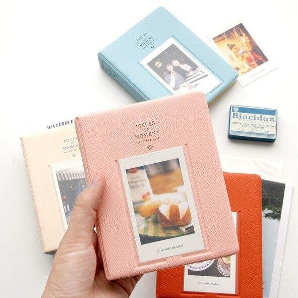 64 Pockets Mini Instant Polaroid Photo Album Picture Case for Fujifilm Instax Mini Film 7s 8 Korea instax mini album