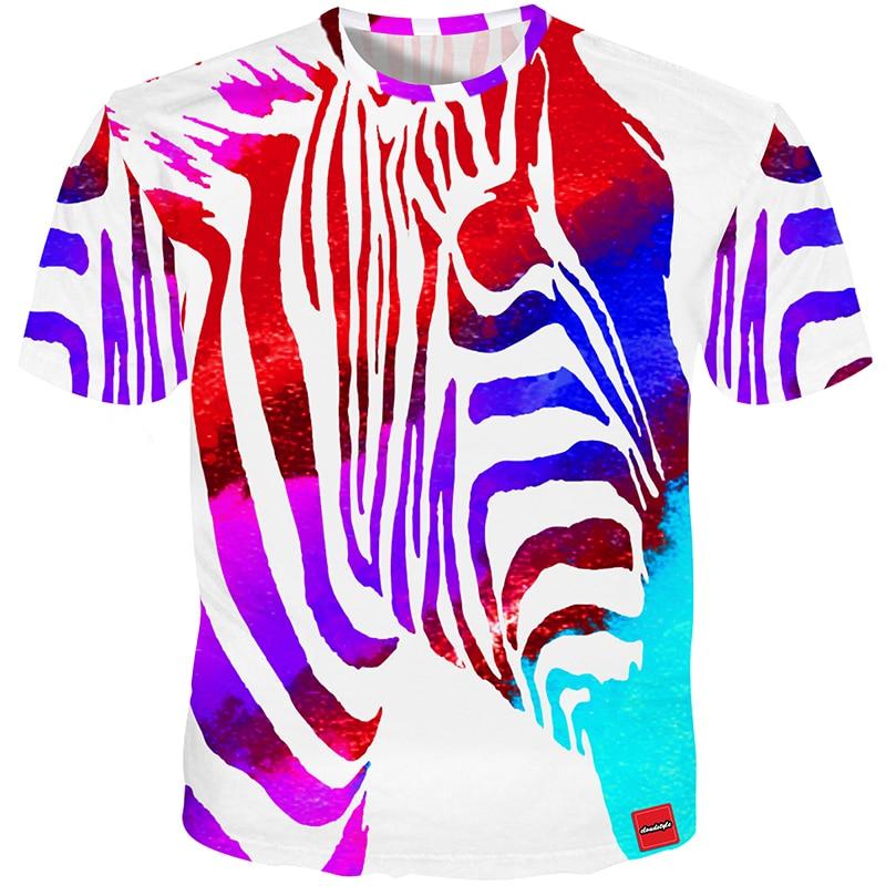 Cloudstyle 2018 3D Tshirt Տղամարդկանց շապիկով - Տղամարդկանց հագուստ - Լուսանկար 3
