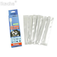 camera accessory sony 6pcs Camera Sensor CCD CMOS Cleaning Swab Dry Cleaner Kit Cleaning Accessory For For Nikon Canon Sony Camera DSLR Camera (1)