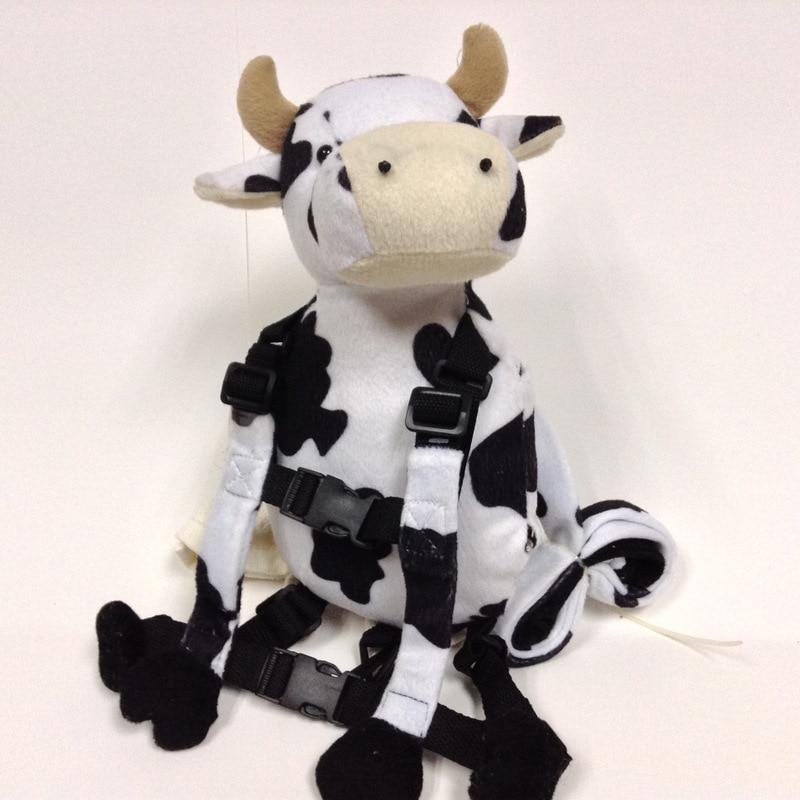Приятель для того, чтобы держать 2-в-1 Детские накладной Рюкзак Детские поводья для От 1 до 3 лет вокруг - Цвет: Cow 2