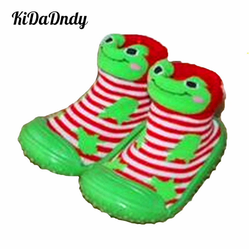 Baby Socks For 6 To 36 Months Babies Anti Slip With Rubber Soles Toddler Cute Baby Newborn Shoes Indoor Shoes Infant Socks WS422