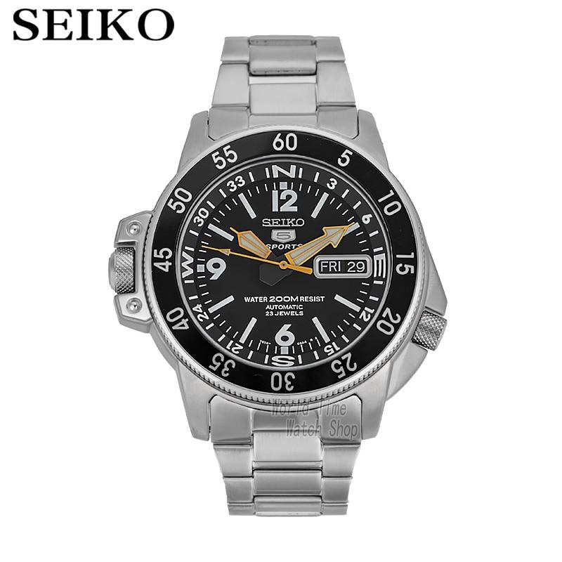 Seiko uhr männer 5 automatische uhr Luxus Marke Wasserdicht Sport Armbanduhr Datum herren uhren tauchen uhr relogio masculino SNK-in Sportuhren aus Uhren bei  Gruppe 1