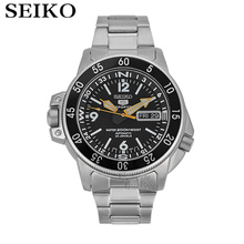 SEIKO Watch Shield No.5 Business Leisure Week Calendar Steel Band Machinery Men S SNZF35J1