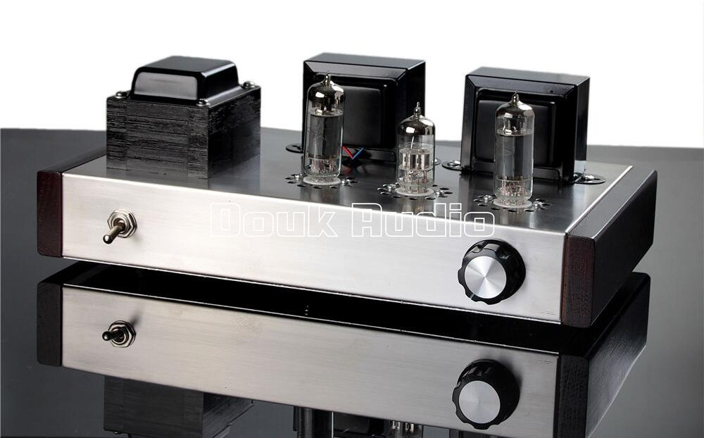 Music Hall Latest 6N2+6P1 Class A Vacuum Tube Amplifier Stereo Integrated Amp 4W+4W Pure Handmade  music hall latest muzishare x7 push pull stereo kt88 valve tube integrated amplifier phono preamp 45w 2 power amp