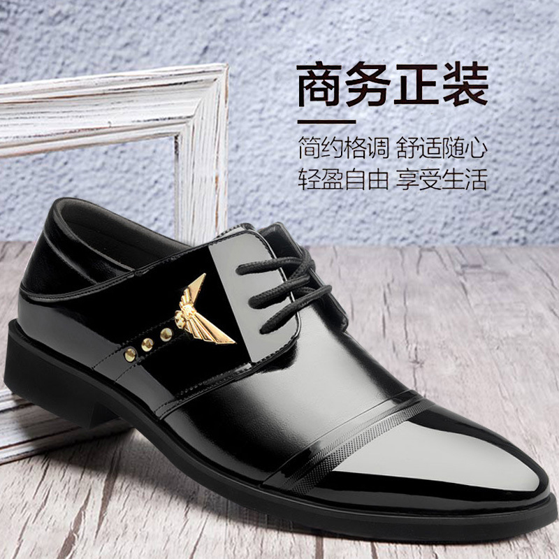 Homens Apontado Sapato Costura Do Formal Festa Primavera Baixo Banda Moda Respirável Escritório Sapatos Negócio Dedo Homem Dos De 8wqnT8Rat